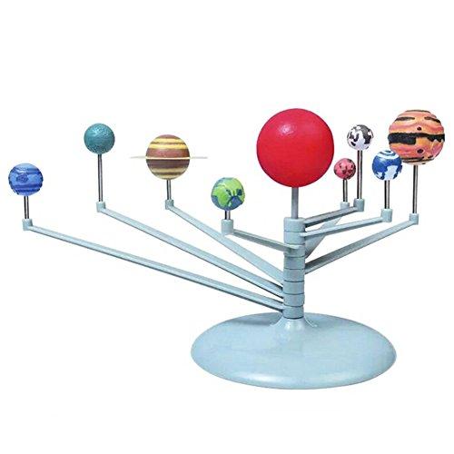 Eleganantimpresionante Sistema Solar 3D Planetario Modelo Aprendizaje Estudio Ciencia Kits educativa astronomía Modelo DIY Juguete Regalo
