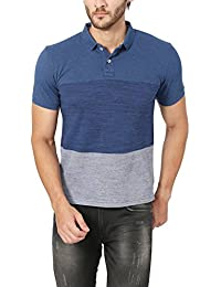 Peter England Men's Plain Slim Fit Polo