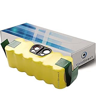 Batterie pour iRobot Roomba 780 785 790 800 870 871 880 80501 3500mAh 14.4V -VISIODIRECT-