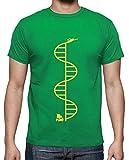 tostadora - T-Shirt Gattaca - Uomo Verde Prato M