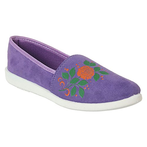 Action Shoes Women's Purple Safety Shoes - 5 UK/India (37 EU)(BN-1024-PURPLE)  available at amazon for Rs.299