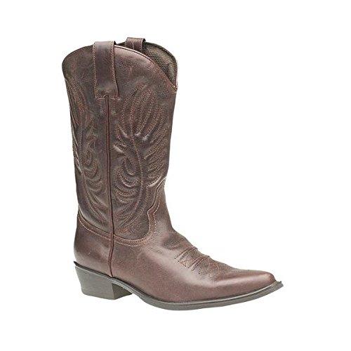 Gringos Men's KANSAS Western Cowboy Boots Braun