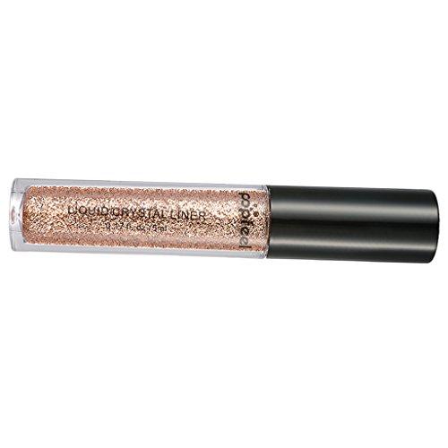 MagiDeal Diamond Glitter Poudre à l'Ombre à Paupières Eye Shadow Pigment Shimmer Powder Pailletté Poudre Fard à Paupières Vernis à Ongles - Or
