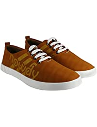Tycos Brown Canvas Shoes For Men & Boy's