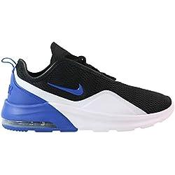 Nike Air MAX Motion 2, Zapatillas de Running para Hombre, (Black/Game Royal/White 001), 43 EU
