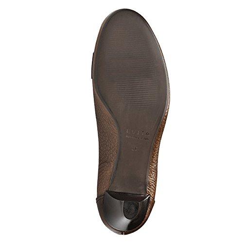 Evita Shoes, Scarpe col tacco donna Marrone (Cognac)