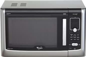 Whirlpool ft 338 sil micro ondes gril et chaleur tournante pose libre 27 l 950 w argent et noir - Thermostat 7 chaleur tournante ...