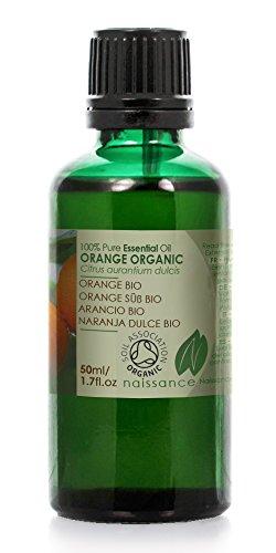 Naissance Olio di Arancio Dolce Biologico – Olio Essenziale Puro al 100% - 50ml
