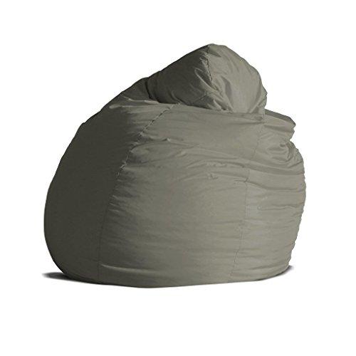 Pouf poltrona sacco grande BAG XXL Jive tessuto tecnico antistrappo beige  imbottito – Avalon