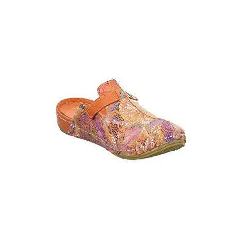 Andrea Conti Damen Pantoletten/Clogs Größe 38 Mehrfarbig (Mehrfarbig) pP6qQ