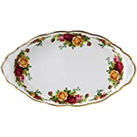 Royal Albert Old Country Roses - Vassoio con rose, 25,4