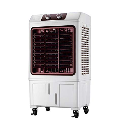 Aire Acondicionado Ventilador Frío Ventilador De Refrigeración De La Máquina Doméstica Móvil...