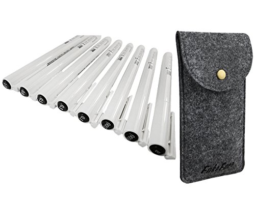 confezione-da-8-impermeabile-fineliner-con-portafoglio-borsa-assortiti-linea-punta-fine-punto-disegn