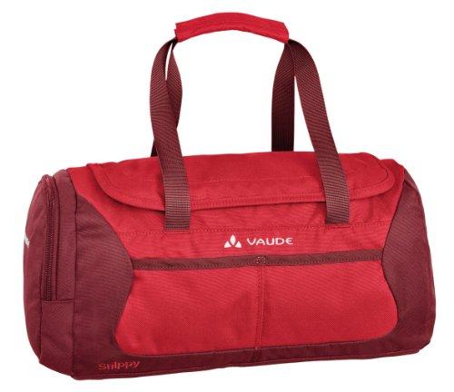 Vaude, Borsa Bambino Snippy, 21 x 40 x 17 cm, Verde (grass/applegreen), 21 x 40 x 17 cm Rosso (salsa/red)