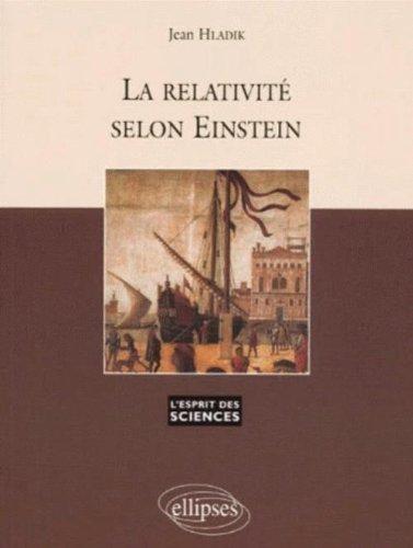La relativité selon Einstein, numéro 9 par Jean Hladik