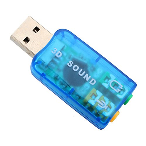Adaptador de Audio USB Externo