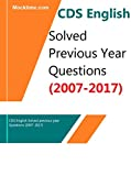 CDS English Solved previous year questions (2007-2017)