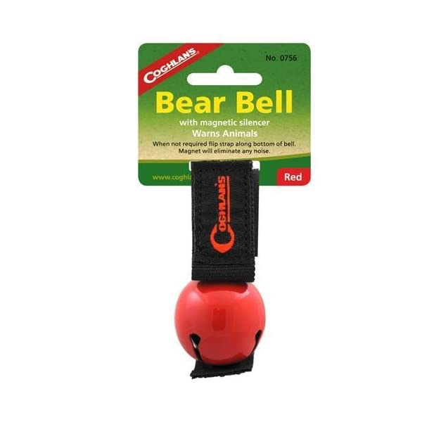 Coghlan's Bear Bell with Magnetic Silencer 1