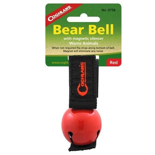 Coghlans ('s Bär Glocke mit Schalldämpfer, Unisex, CL Magnetic #0756, rot -