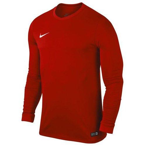 Nike LS YTH Park Vi JSY Camiseta, Niños, Rojo University Red/White, XL