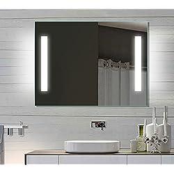 Espejo del baño espejo con luz LED de pared para baño 80 x 60 SPE8060H