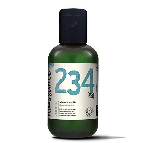 Naissance Huile Végétale de Macadamia Certifiée BIO - 100ml - 100% pure et naturell