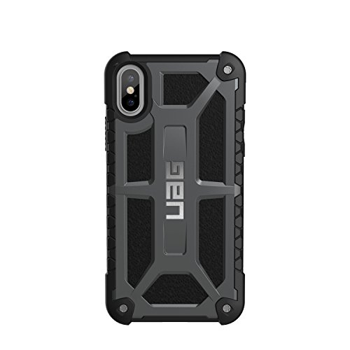 urban armor gear iphx-a-bk custodia per iphone x/10 nero