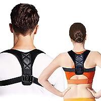 حزام دعم مصحح وضعية اعلى الظهر الكتف والقطنية والترقوة ومشد طبي قابل للتعديل، للرجال والنساء Medium