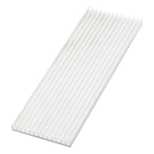 aluminium-chaleur-ventilateur-dissipateur-de-chaleur-refroidissement-fin-160x55x6mm-argent-ton