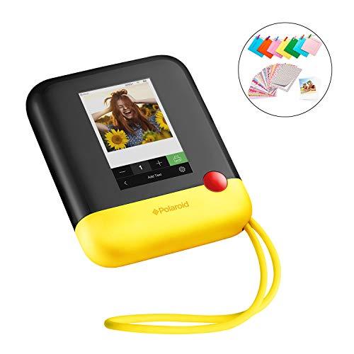 Polaroid Pop 2.0 - Appareil Photo Instantané de 20 Mp, Écran Tactile de 3,97 Pouces, Wi-Fi, Tirages Photo Zink Zero Ink 9 x 11 cm, Jaune