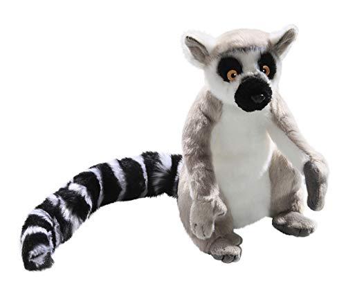 (Carl Dick Katta, Lemur sitzend grau aus Plüsch ca. 22cm, 34cm mit Schwanz 2880)
