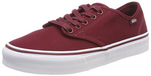 Vans Damen Camden Stripe Classic Sneaker, Rot ((Canvas) Cabernet R5p), 38 EU
