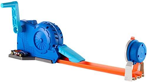 Hot Wheels FLL02 - Track Builder Turbostarter inkl. 1 Spielzeugauto, Spielzeug ab -
