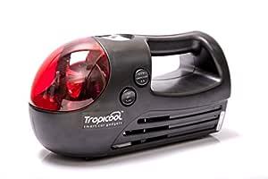 Tropicool Ti-300 Tyre Inflator Air Compressor Pump for Car (Black)