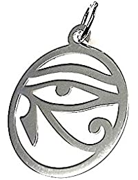 Colgante plata ley 925m 25mm. amuleto talismán [AA7861]