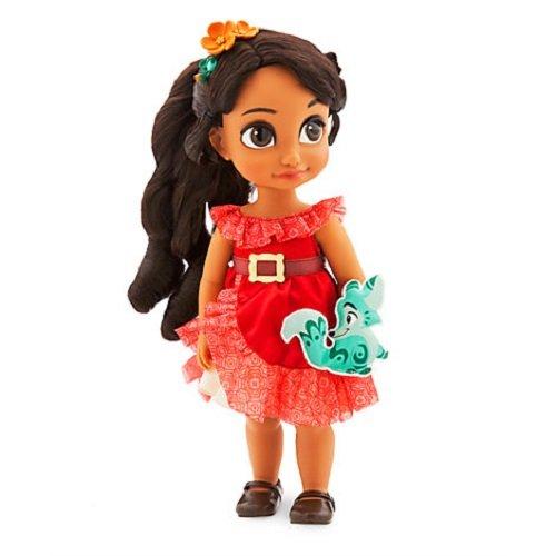 (Disney Elena von Avalor Animator Puppe 39cm mit einer gepolsterten Adlopard Kuschelpuppe)