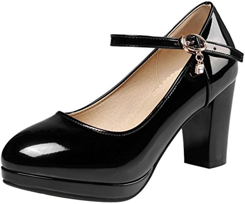 70bc8255ad9 JOJONUNU Women Fashion Thick Heel Court Shoes B07B2S4G59 B07B2S4G59  B07B2S4G59 Parent 18e03b