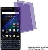 4ProTec 2X Crystal Clear klar Schutzfolie für Blackberry KEY2 LE Displayschutzfolie Bildschirmschutzfolie Schutzhülle Displayschutz Displayfolie Folie