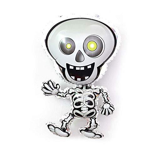 Aolvo Halloween-Ballons aus Folie, aufblasbare Ballons, niedliche beängstigende -