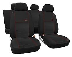 Autositzbezüge, Schonbezüge Trend LINE passend für Golf - Universal Stoffsitzbezug Angebot DUNKELROT.