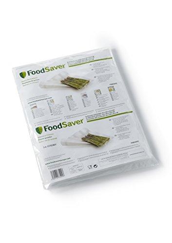 FoodSaver FSB3202-I Folienbeutel 32 Stück 28x36 cm/Vakuumrollen für lebensmittel/Vakuumierer/Sous-Vide (Foodsaver Vakuumierer Beutel)