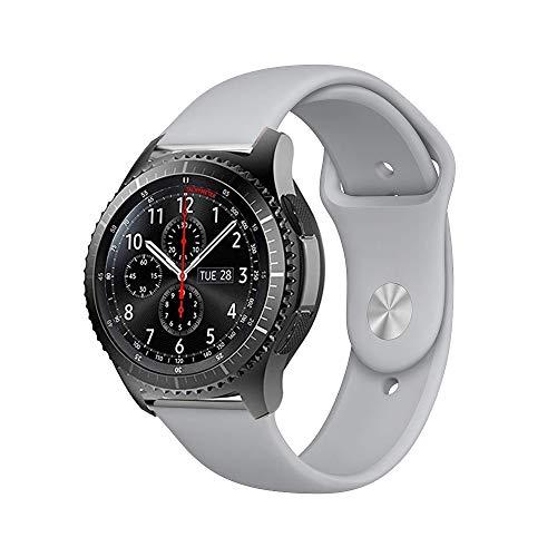 BarRan Ticwatch E Cinturino, 20MM Quick Release Edizione Speciale Morbido Sportivo di Ricambio in TPE Accessori per Ticwatch X,Ticwatch 2 Active,Ticwatch 2