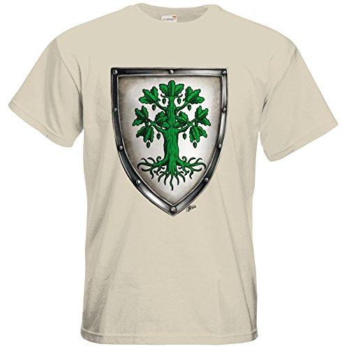 getshirts - Das Schwarze Auge - T-Shirt - Die streitenden Königreiche - Wappen Andergast L Natural