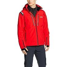 Colmar Hombre Evolution Jacket balas Chaqueta de esquí, otoño/invierno, hombre, color rojo claro, tamaño M
