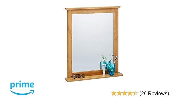 Neuer Wandspiegel,Spiegel Spiegel zum Aufhängen Badezimmer Zubehör Wohnzimmer