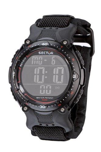 Sector Expander Street R3251172325 - Reloj para niños de cuarzo, correa de textil color negro