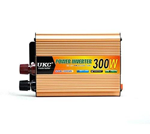 Convertisseur KDLD Power Inverter 3 00 W DC 12 V à AC 220 V Transformateur De Voiture Tension Allume-cigare USB De Voiture Chargeur