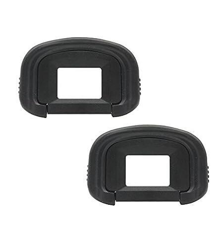 Augenmuschel, CAM-ULATA EG Ersatz-Augenmuschel Okular Sucher Auge Cup Ersatz für Canon EOS Rebel 5D Mark III, 1DX, 1Ds Mark III, 1D Mark IV, 1D Mark III, 7D, 7D Mark II SLR Kamera, 2