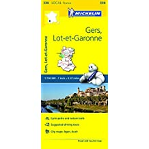 Michelin FRANCE: Gers, Lot-et-Garonne Map 336 (Maps/Local (Michelin)) by Michelin Travel & Lifestyle (2016-04-07)