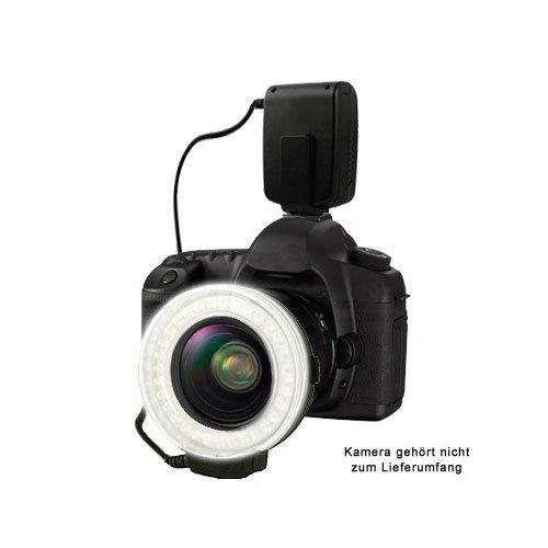 MAKRO-RING-BLITZ ( Makroblitz-Ringlicht-Kombination ) für viele Canon EOS und PowerShot Kameras ...(powered by SIOCORE )